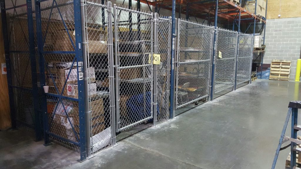 commercial chain link fence in pearland