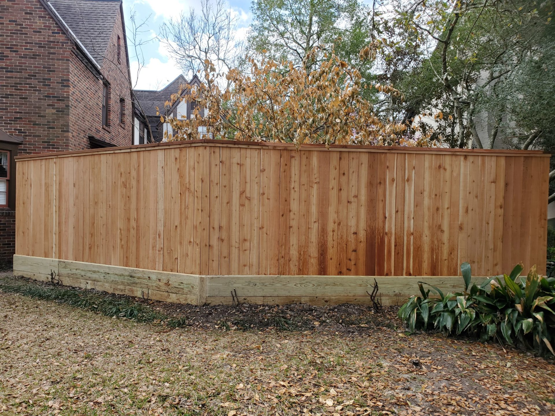 fence in houston texas