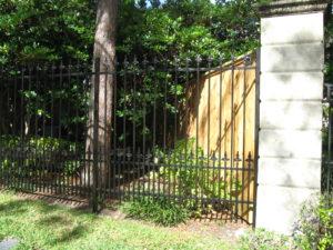 wrought iron fence sugar land