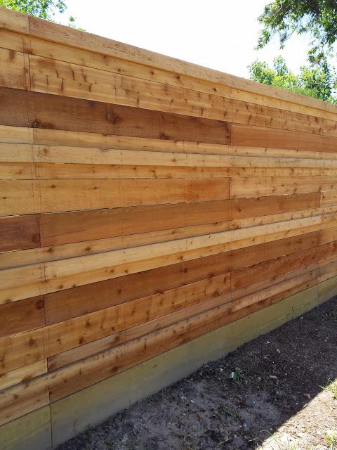 wood fence katy