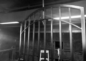 iron fence in houston