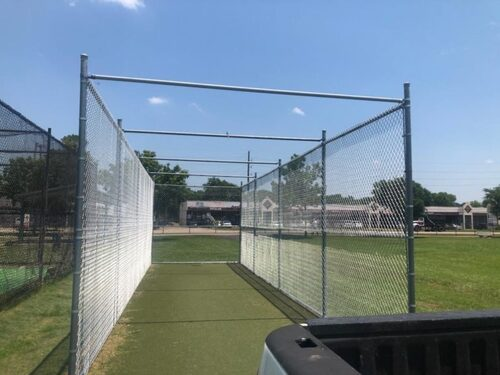 batting fence houston