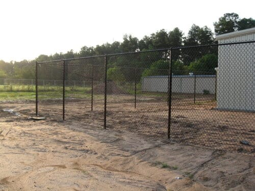 commercial chain link fence in spring tx