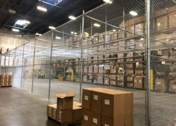 commercial chain link fence in houston