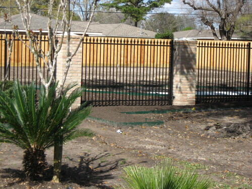 wrought iron fence in katy