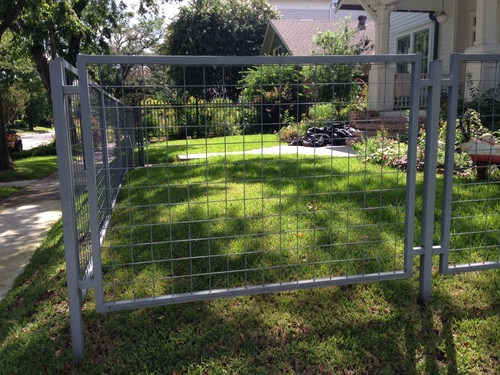 chain link fence in stafford