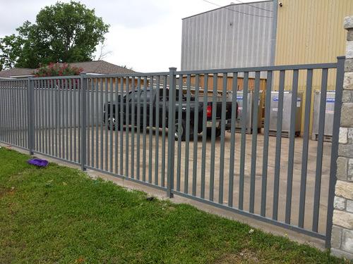 katy iron fence