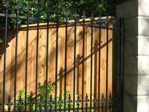 wood and wrought iron in league city