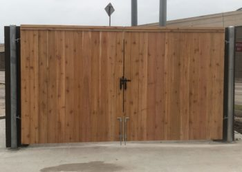 double gate installation